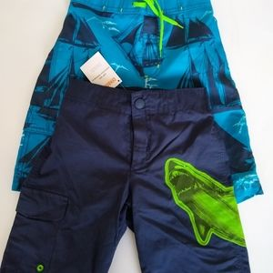 Boys swim trunks bundle Gymboree